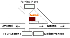 Nama Restaurant Location